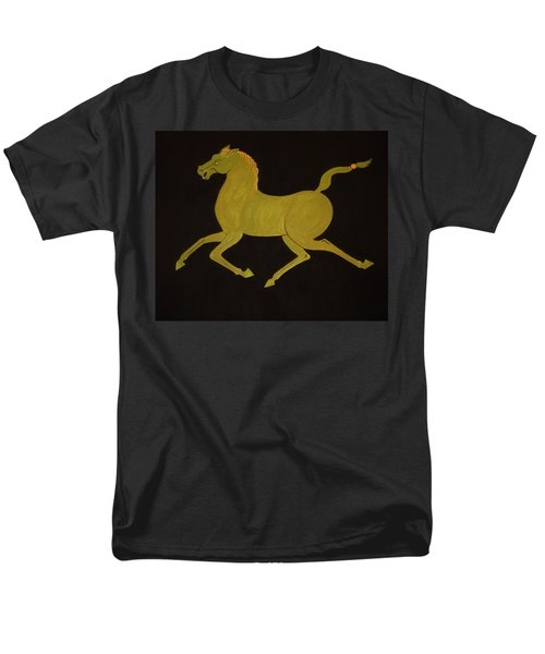Chinese Horse #2 Men's T-Shirt  (Regular Fit) by Stephanie Moore