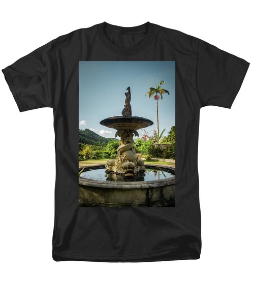 Men's T-Shirt  (Regular Fit) featuring the photograph Classic Fountain by Carlos Caetano