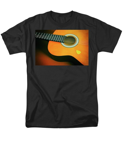 Men's T-Shirt  (Regular Fit) featuring the photograph Classic Guitar  by Carlos Caetano