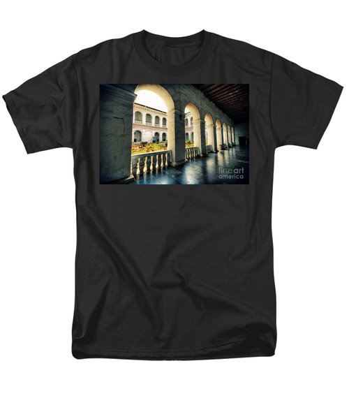 Corridor Men's T-Shirt  (Regular Fit) by Charuhas Images