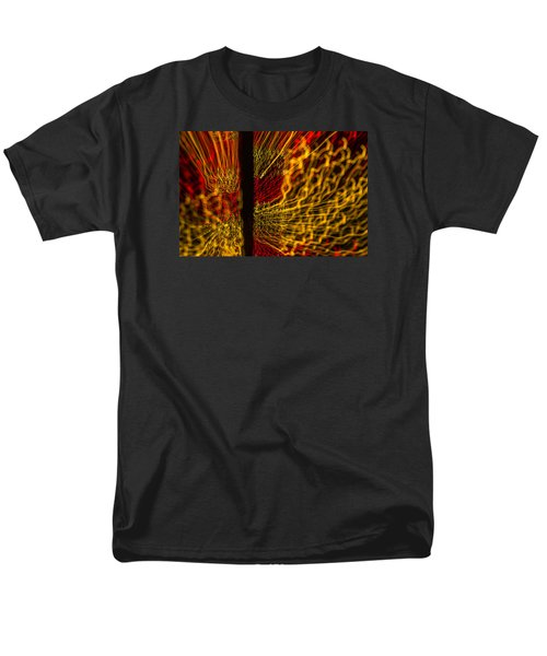 Men's T-Shirt  (Regular Fit) featuring the photograph Dancing Lights 5  by Penny Lisowski