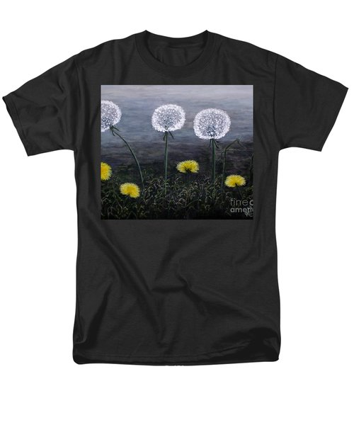 Dandelion Family Men's T-Shirt  (Regular Fit) by Judy Kirouac