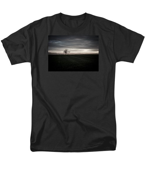 Dark And Light Men's T-Shirt  (Regular Fit) by Miguel Winterpacht