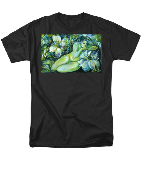 Dreaming Flower Men's T-Shirt  (Regular Fit)
