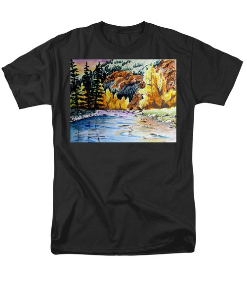 East Clear Creek Men's T-Shirt  (Regular Fit) by Jimmy Smith