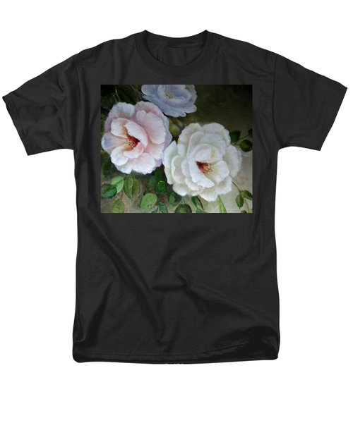 Men's T-Shirt  (Regular Fit) featuring the painting Etre Fleur  by Patricia Schneider Mitchell