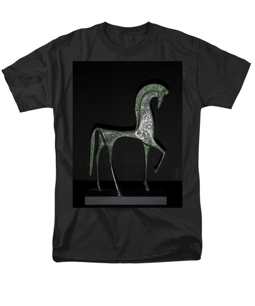 Etruscan Horse Men's T-Shirt  (Regular Fit) by Stephanie Moore