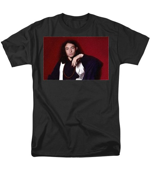 Ezra Miller Poster Men's T-Shirt  (Regular Fit) by Best Actors