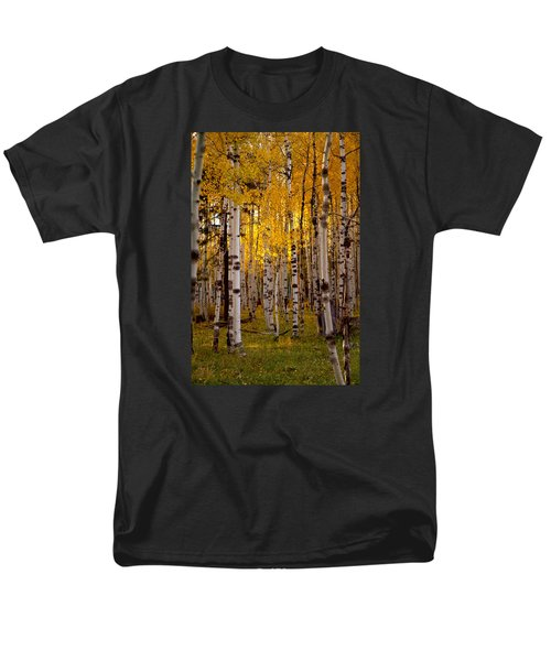 Men's T-Shirt  (Regular Fit) featuring the photograph Fall At Snowbowl by Tom Kelly