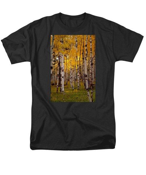 Fall At Snowbowl Men's T-Shirt  (Regular Fit) by Tom Kelly