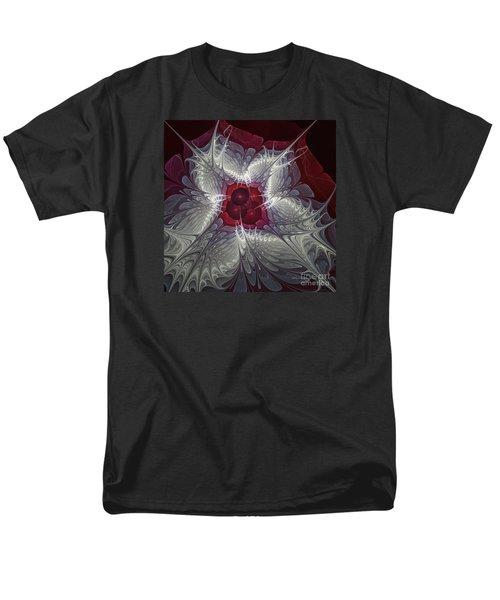 Men's T-Shirt  (Regular Fit) featuring the digital art Festive Star by Karin Kuhlmann