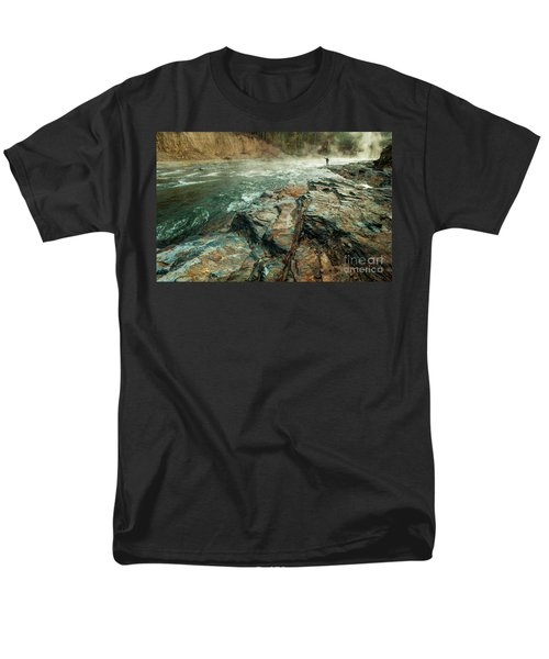 Men's T-Shirt  (Regular Fit) featuring the photograph Fishing Day by Iris Greenwell