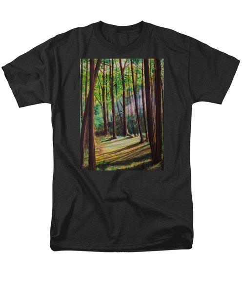 Forest Light Men's T-Shirt  (Regular Fit) by Ron Richard Baviello