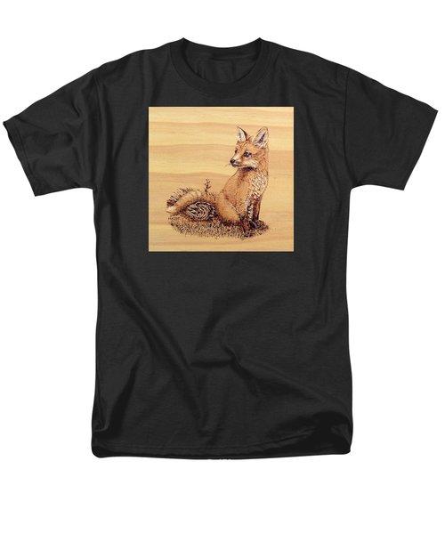 Fox Men's T-Shirt  (Regular Fit) by Ron Haist