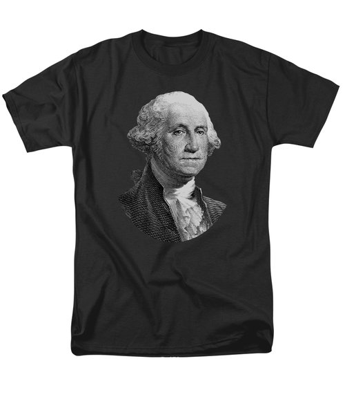 George Washington  Men's T-Shirt  (Regular Fit) by War Is Hell Store
