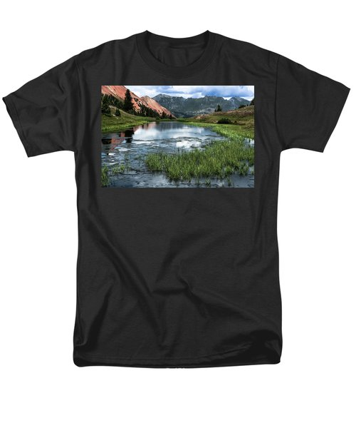 Men's T-Shirt  (Regular Fit) featuring the photograph Grey Copper Gulch by Jay Stockhaus