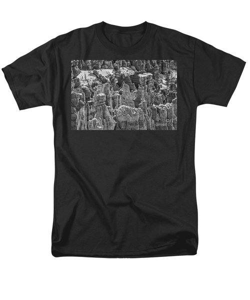 Hoodoos After A Snowfall Men's T-Shirt  (Regular Fit) by Sue Smith