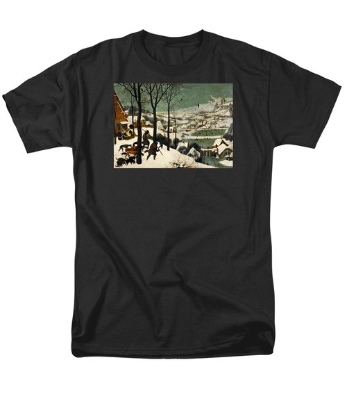Hunters In The Snow Men's T-Shirt  (Regular Fit) by Pieter Bruegel the Elder