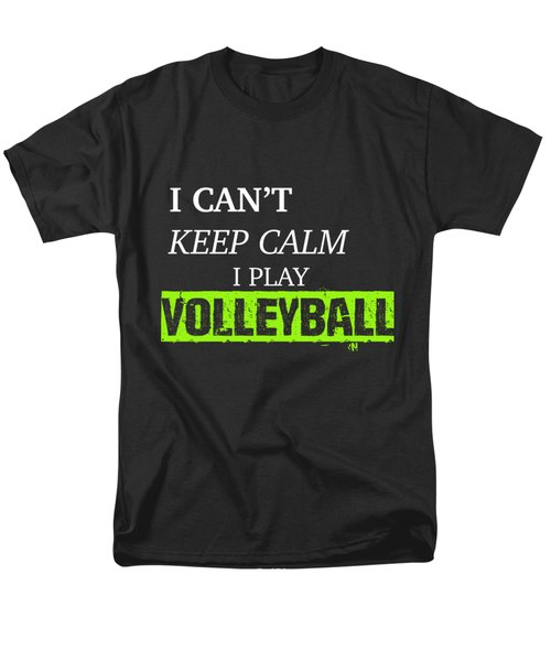 I Play Volleyball Men's T-Shirt  (Regular Fit) by Meli Mel