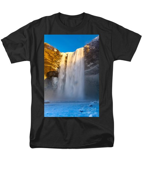 Men's T-Shirt  (Regular Fit) featuring the photograph Iceland  by Mariusz Czajkowski
