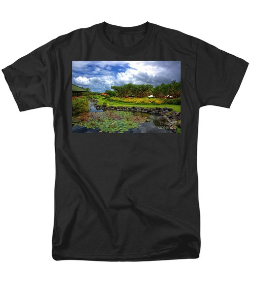 In Bali Men's T-Shirt  (Regular Fit) by Charuhas Images