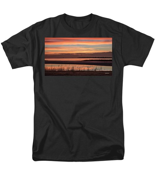 Inlet Watch Sunrise Men's T-Shirt  (Regular Fit) by Phil Mancuso