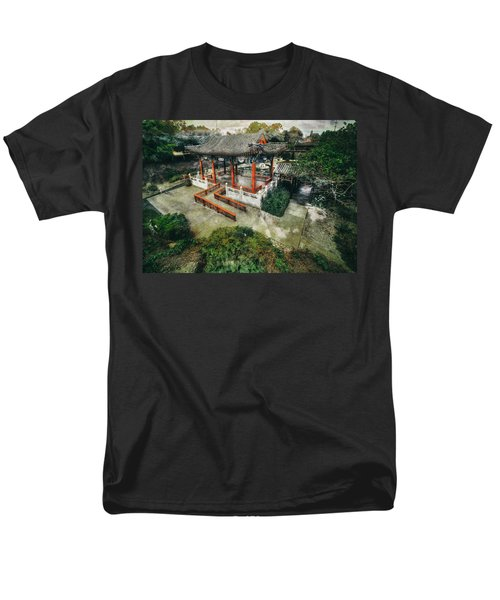 Men's T-Shirt  (Regular Fit) featuring the photograph Jade Garden by Wayne Sherriff