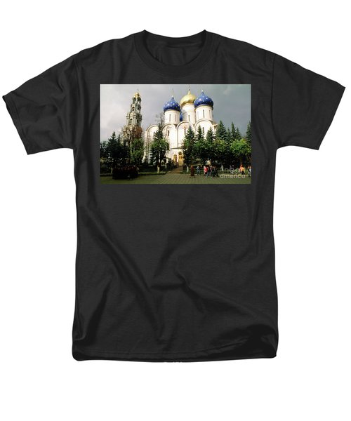 Jesus, Trinity Lavra Of St. Sergius Monastery Sergiev Posad Men's T-Shirt  (Regular Fit) by Wernher Krutein