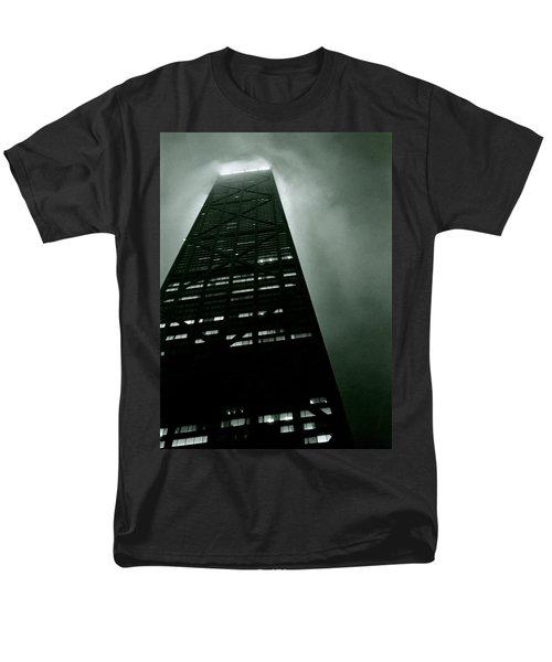 John Hancock Building - Chicago Illinois Men's T-Shirt  (Regular Fit) by Michelle Calkins