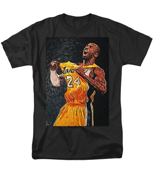 Kobe Bryant Men's T-Shirt  (Regular Fit) by Taylan Apukovska