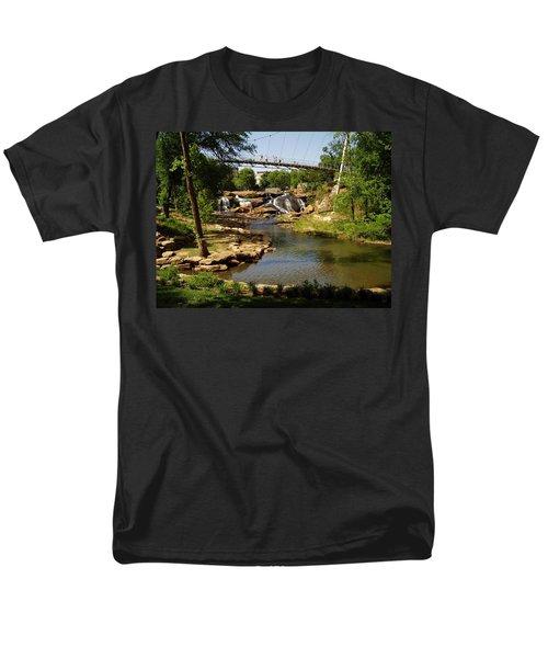 Liberty Bridge Men's T-Shirt  (Regular Fit) by Flavia Westerwelle