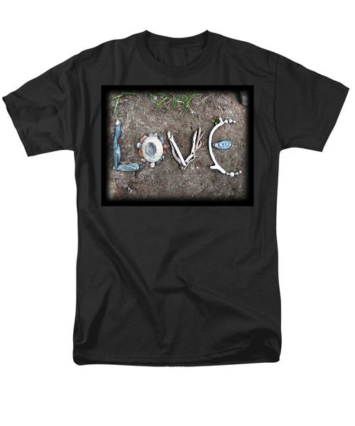 Love Men's T-Shirt  (Regular Fit) by Tanielle Childers