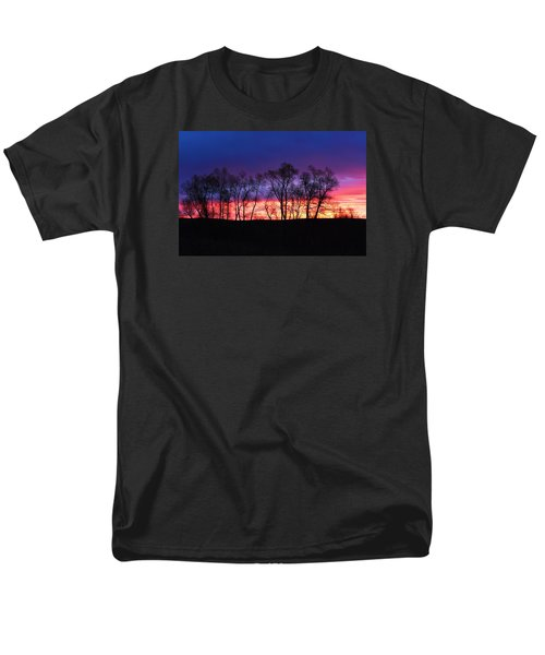 Men's T-Shirt  (Regular Fit) featuring the photograph Magical Sunrise by Dacia Doroff
