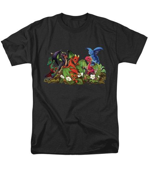 Mixed Berries Dragons T-shirt Men's T-Shirt  (Regular Fit)