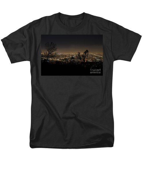 Night At Griffeth Observatory Men's T-Shirt  (Regular Fit) by Clayton Bruster