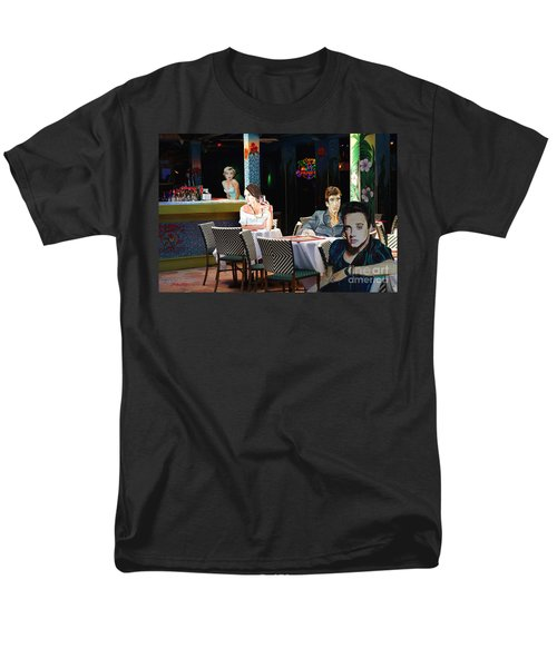 Men's T-Shirt  (Regular Fit) featuring the painting Starry  Night by Judy Kay