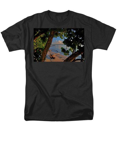 Men's T-Shirt  (Regular Fit) featuring the photograph 1- North Palm Beach by Joseph Keane