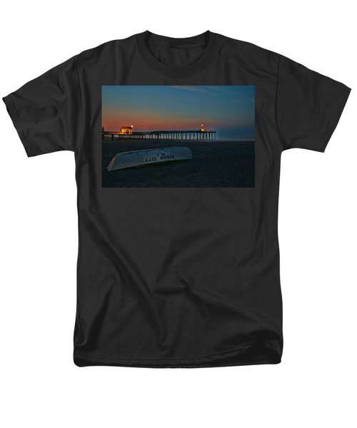 Ocean City  N J Sunrise Men's T-Shirt  (Regular Fit) by Allen Beatty