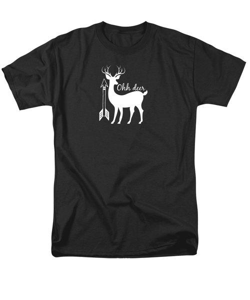 Ohh Deer Men's T-Shirt  (Regular Fit) by Chastity Hoff