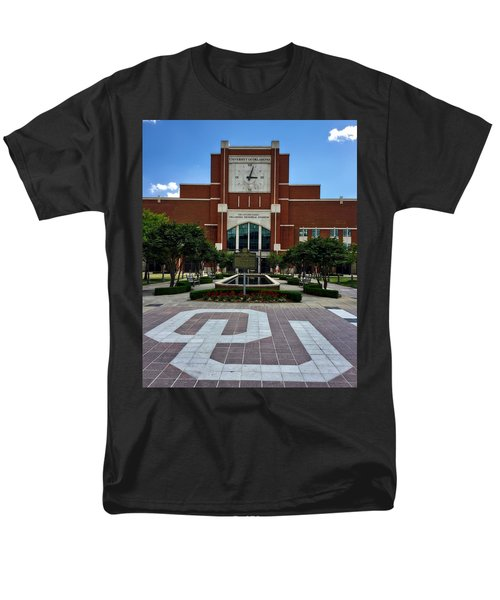 Oklahoma Memorial Stadium Men's T-Shirt  (Regular Fit) by Center For Teaching Excellence