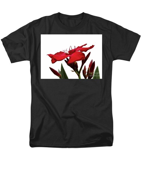 Oleander Blood-red Velvet 3 Men's T-Shirt  (Regular Fit) by Wilhelm Hufnagl
