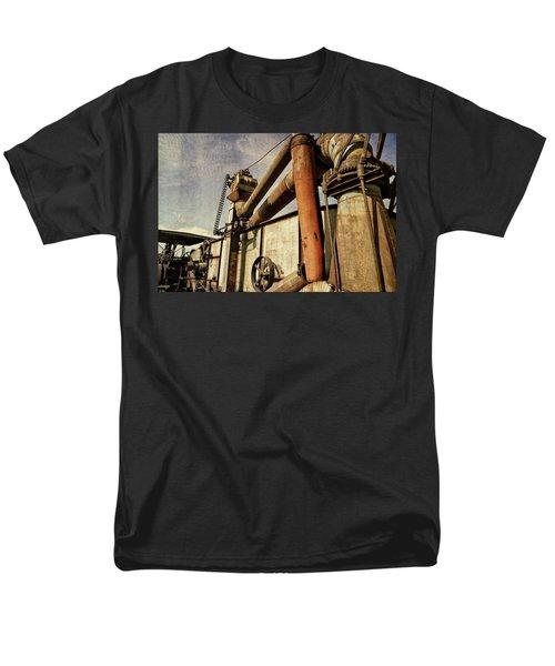 On The Farm Men's T-Shirt  (Regular Fit) by Michelle Calkins