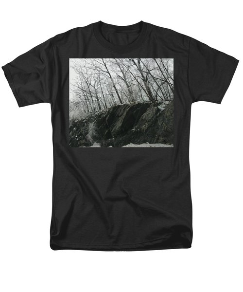 Men's T-Shirt  (Regular Fit) featuring the photograph Out Of The Rocks by Ellen Levinson