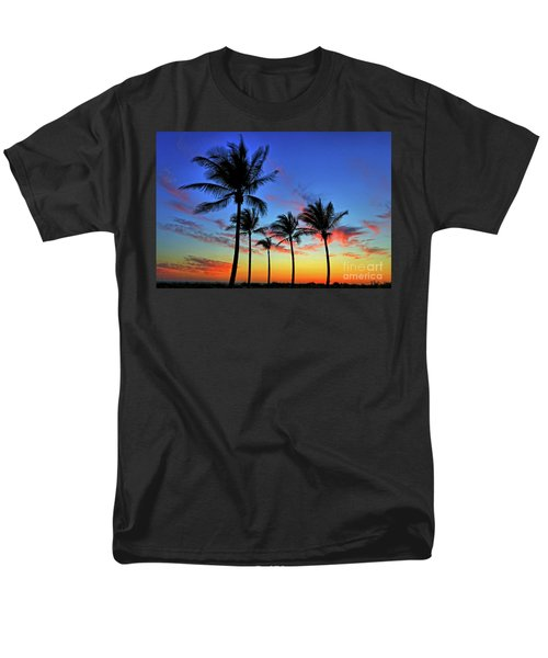 Men's T-Shirt  (Regular Fit) featuring the photograph Palm Tree Skies by Scott Mahon