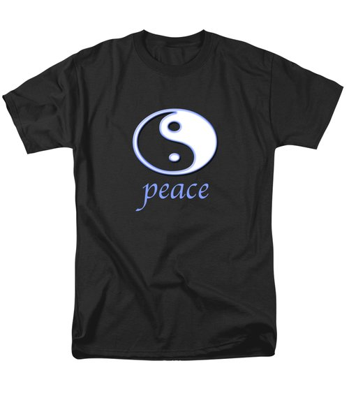 Peace Men's T-Shirt  (Regular Fit) by Bill Owen