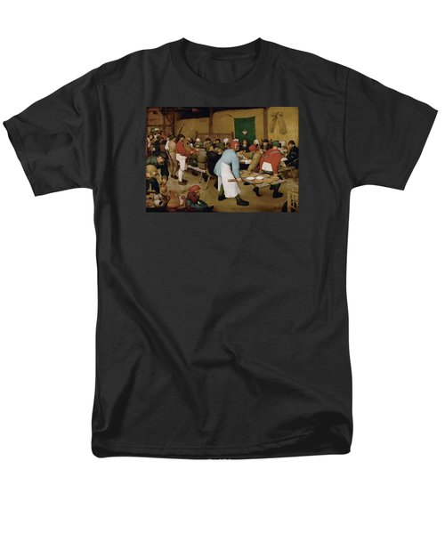 Peasant Wedding Men's T-Shirt  (Regular Fit) by Pieter Bruegel the Elder