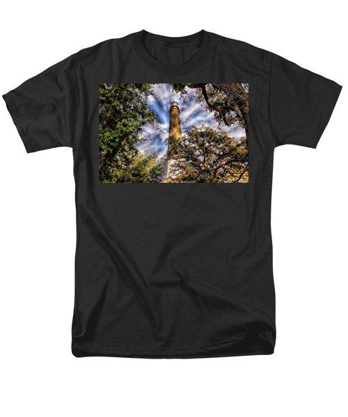 Pensacola Lighthouse Men's T-Shirt  (Regular Fit) by Anthony Dezenzio