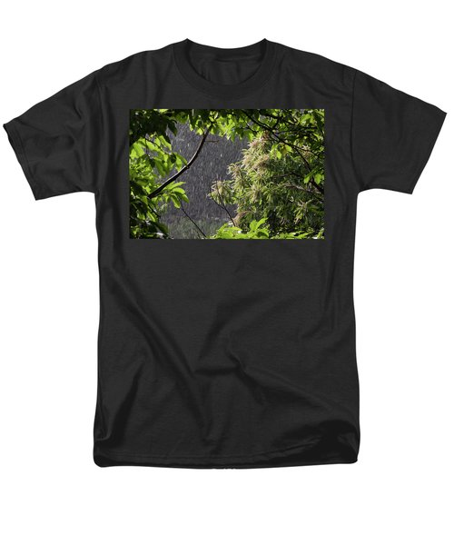 Men's T-Shirt  (Regular Fit) featuring the photograph Rain by Bruno Spagnolo