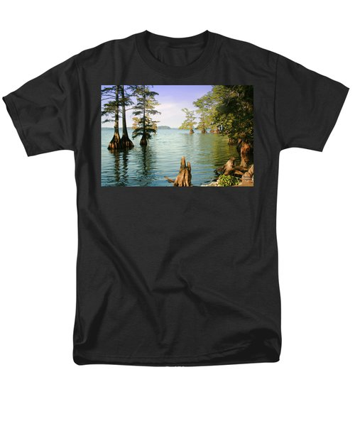 Men's T-Shirt  (Regular Fit) featuring the photograph Reelfoot Lake by Bonnie Willis