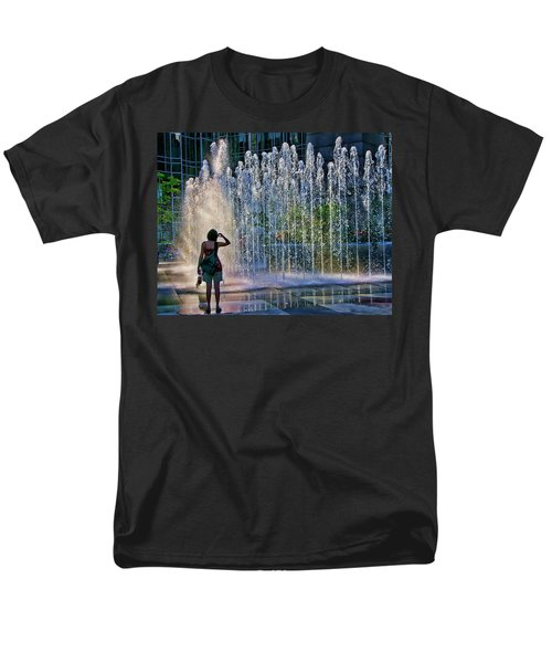 Men's T-Shirt  (Regular Fit) featuring the photograph Should I? by Rhonda McDougall